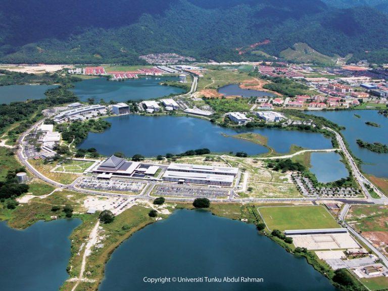 Kampar campus aerial view